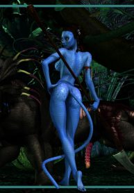 Mongo Bongo Na'vi And The Thanator Avatar Read Online Download Free
