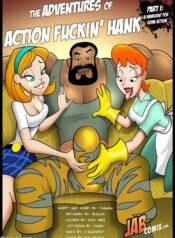JAB Comix The Adventures of Action Fuckin Hank Read Online Download Free