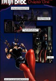 9 Superheroines Ninja Babe Read Online Download Free