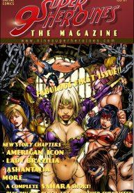 9 Superheroines The Magazine Read Online Download Free