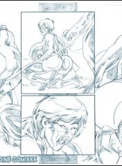 SuperHeroineComiXXX Coloring Book Read Online Download Free